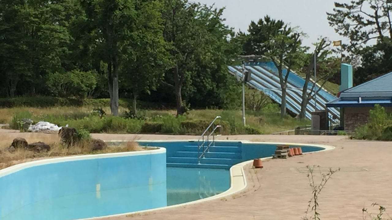 緑地プール